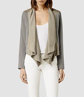 Womens Kwar Jacket (Khaki)