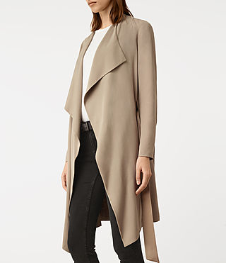 Damen Iza Coat (Light Sand) - product_image_alt_text_2