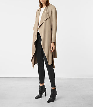 Damen Iza Coat (Light Sand) - product_image_alt_text_3