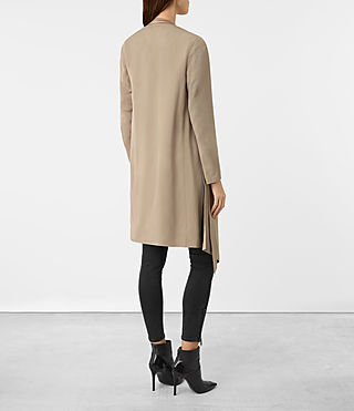 Damen Iza Coat (Light Sand) - product_image_alt_text_4