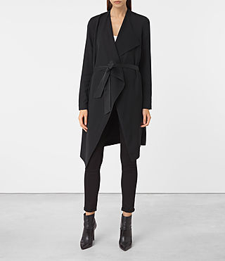 Women's Iza Coat (Ink Blue)