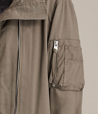 Women's Oren Light Parka (DARK FERN GREEN) - product_image_alt_text_2