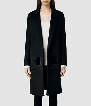 Womens Elba Coat (Black)