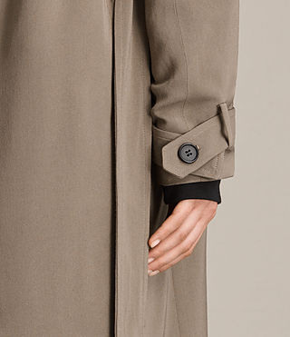 Femmes Trench-coat Amelie (SAGE GREEN) - product_image_alt_text_4