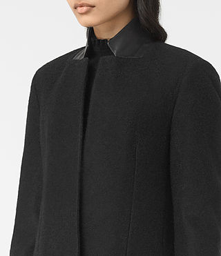 Damen Jaiya Coat (Black/Grey) - product_image_alt_text_2