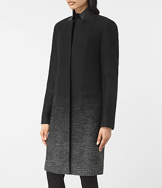 Damen Jaiya Coat (Black/Grey) - product_image_alt_text_3