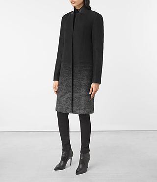 Damen Jaiya Coat (Black/Grey) - product_image_alt_text_4