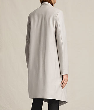 Femmes Manteau Lora (Pebble Grey) - product_image_alt_text_7