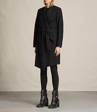 Donne Cappotto Lora (Black) - product_image_alt_text_4