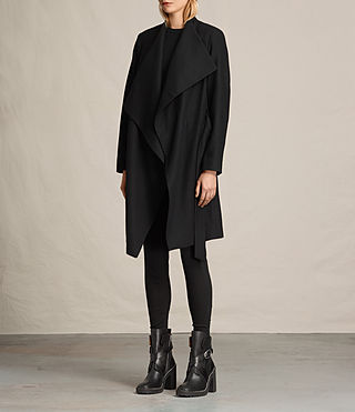 Donne Cappotto Lora (Black) - product_image_alt_text_7