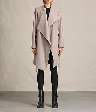 Womens Lora Coat (Taupe)