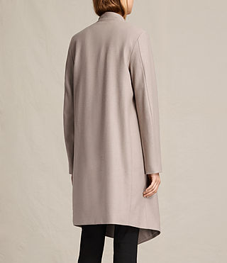 Womens Lora Coat (Taupe) - product_image_alt_text_8
