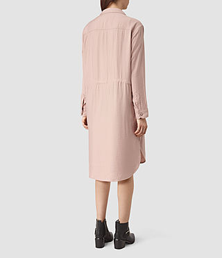 Mujer Emiri Shirt Coat (GHOST PINK) - product_image_alt_text_4