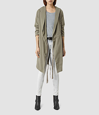 Damen Pelya Parka (DARK SAGE GREEN)