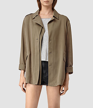 Femmes Kaiya Jacket (DARK SAGE GREEN)