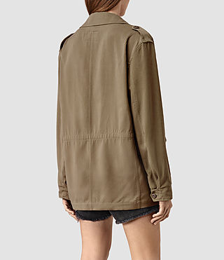 Donne Kaiya Jacket (DARK SAGE GREEN) - product_image_alt_text_3