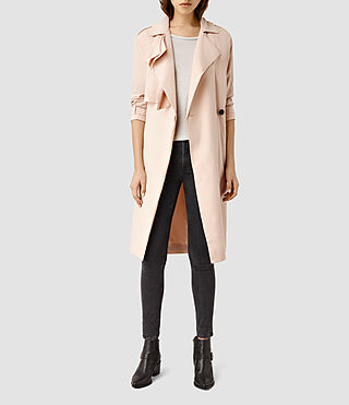 Women's Emil Mac Coat (SOFT PEACH PINK)