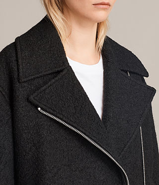 Mujer Chaqueta Remi (Black) - product_image_alt_text_2