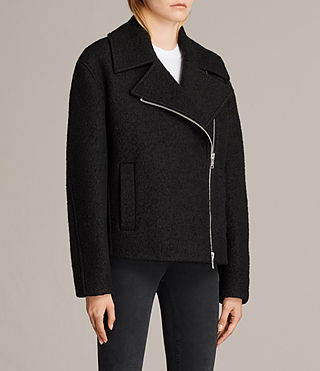 Mujer Chaqueta Remi (Black) - product_image_alt_text_4