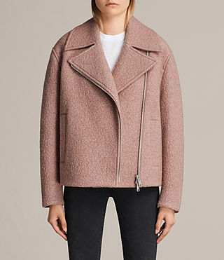 Womens Remi Jacket (VINTAGE ROSE PINK) - product_image_alt_text_1