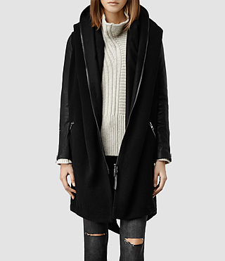 Womens Ryn Parka (Black)