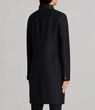 Womens Leni Coat (Ink Blue) - Image 7