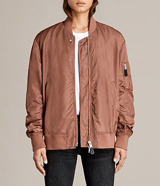 Mujer Bomber Myra (Rust) - product_image_alt_text_1