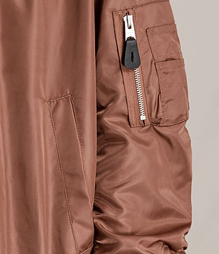 Mujer Bomber Myra (Rust) - product_image_alt_text_2
