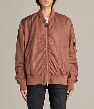Mujer Bomber Myra (Rust) - product_image_alt_text_4