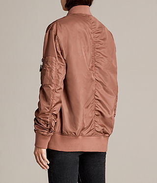 Mujer Bomber Myra (Rust) - product_image_alt_text_5