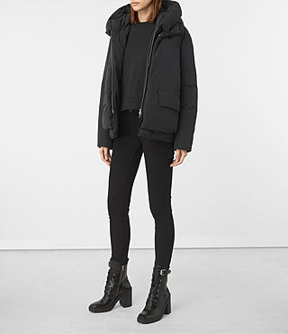 Donne Estra Jacket (Black) - product_image_alt_text_3