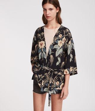 Womens Kyoto Kimono Jacket (Ink)