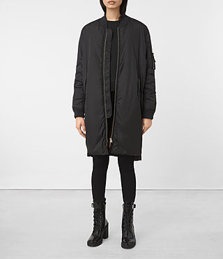 Damen Tyne Bomber Parka (Black)