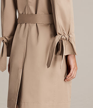 Mujer Gabardina Riley (SAND BROWN) - product_image_alt_text_4