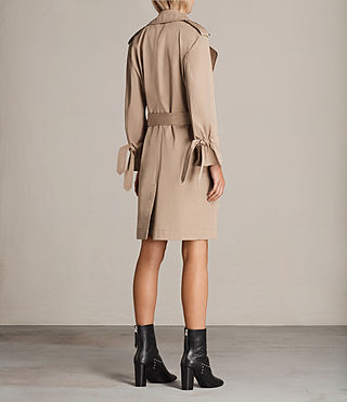 Mujer Gabardina Riley (SAND BROWN) - product_image_alt_text_6