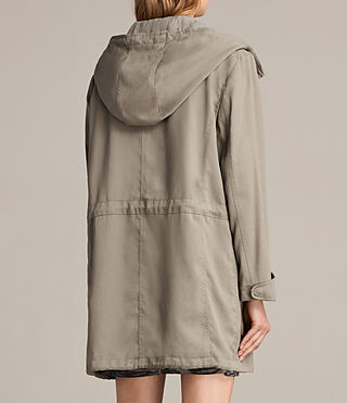 Mujer Parka Sloane Drape (SAGE GREEN) - product_image_alt_text_6