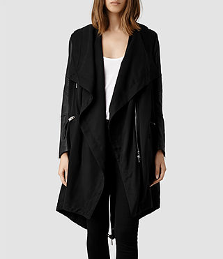 Womens Gion Parka Jacket (Black)
