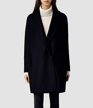 Womens Klein Coat (Ink)