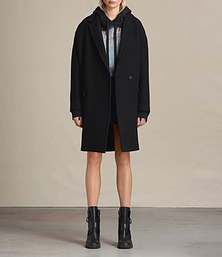 Womens Ada Coat (Black)