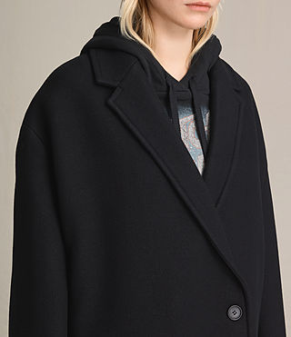 Mujer Ada Coat (Black) - product_image_alt_text_2