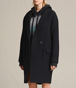 Mujer Ada Coat (Black) - product_image_alt_text_3