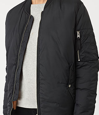 Damen Tyne Bomber Jacket (Slate Grey) - product_image_alt_text_2