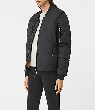 Damen Tyne Bomber Jacket (Slate Grey) - product_image_alt_text_3