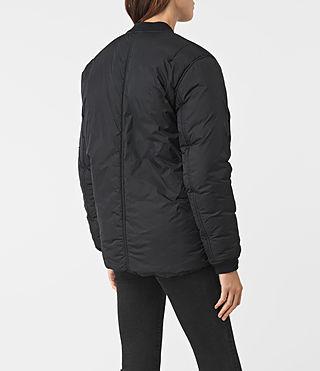 Femmes Tyne Bomber Jacket (Slate Grey) - product_image_alt_text_4