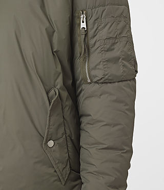 Donne Tyne Bomber (Khaki Green) - product_image_alt_text_2