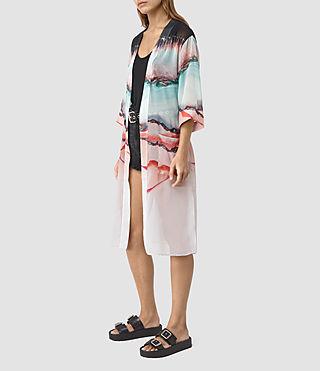 Womens Crystal Kimono (Pink)