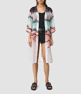 Mujer Crystal Kimono (Pink) - product_image_alt_text_2