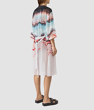 Mujer Crystal Kimono (Pink) - product_image_alt_text_3