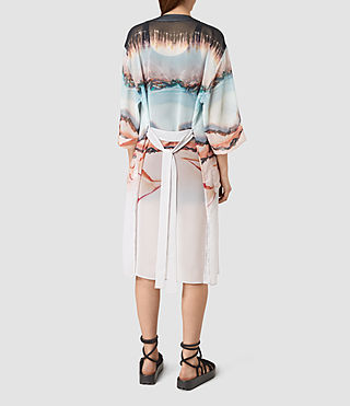 Mujer Crystal Kimono (Pink) - product_image_alt_text_4