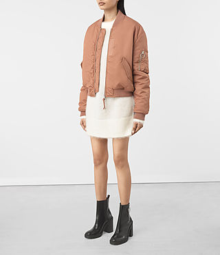 Mujer Opex Bomber (SMOKE ORANGE) - product_image_alt_text_2